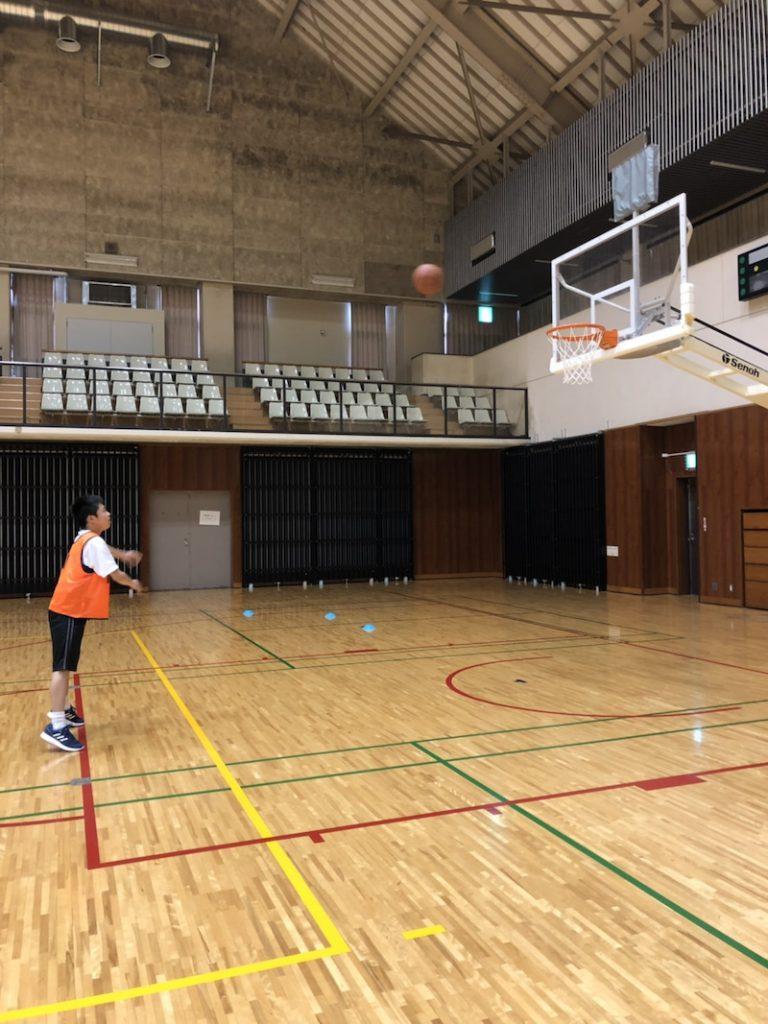 体育のクラス対抗トライアル
